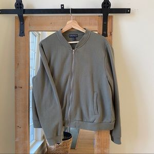 Forever 21 Plus size Army Green Bomber Jacket